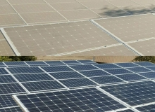 solar farm cleaning